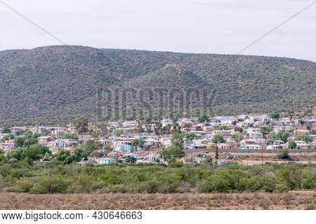 Willowmore, South Africa - April 21, 2021: A View Of Willowmore In The Eastern Cape Province. Houses