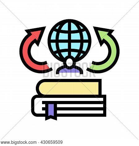 Environmental History Color Icon Vector. Environmental History Sign. Isolated Symbol Illustration