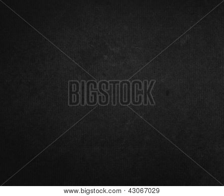 Black Paper Background Texture