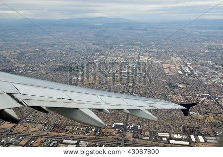 Phoenix Arizona From The Sky