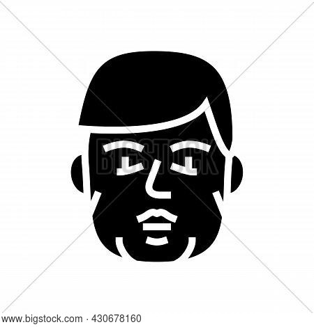 Acromegaly Endocrinology Glyph Icon Vector. Acromegaly Endocrinology Sign. Isolated Contour Symbol B