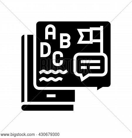 Cultural History Glyph Icon Vector. Cultural History Sign. Isolated Contour Symbol Black Illustratio