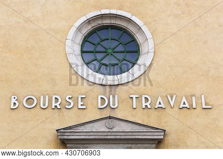 The Labour Exchanges Building Called Bourse Du Travail In French Language