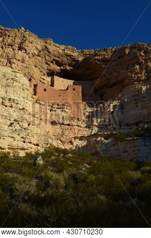 Amazing Prehistoric Cliff Dwellings Carved Out Of Limestone Cliffs.