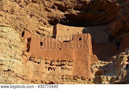 Amazing Preserved Cliff Dwellings In Yavapai County Arizona.