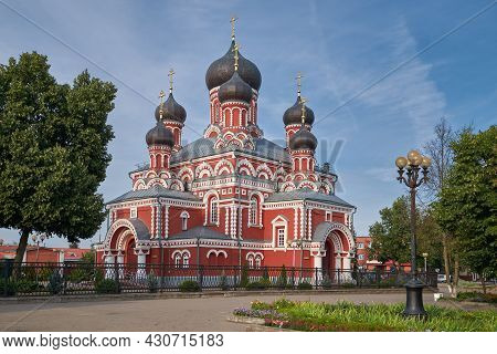 Old Orthodox Cathedral Of The Resurrection Of Christ In Borisov, Minsk Region, Belarus.