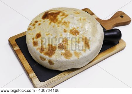 Matka Biryani, Indian Flavored Rice Dish Covered With Bread Dough