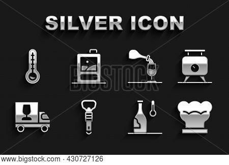 Set Bottle Opener, Fermentation Of Grapes, Chef Hat, Wine Temperature, Truck, Tasting, Degustation,