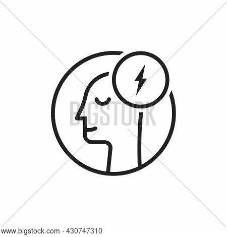 Insight Logo Like Thin Line Human Head