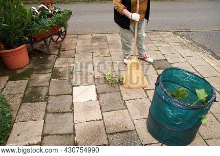 Sweep The Leaves, Sweep People, Clean The Garden Labor