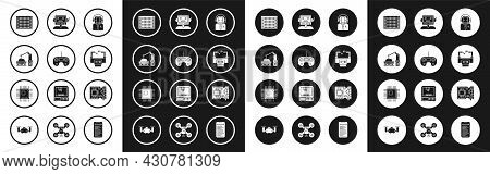 Set Worker Robot, Remote Control, Industrial Machine Robotic Arm Hand, Printed Circuit Board Pcb, As