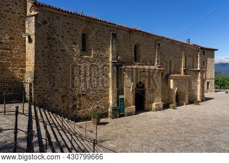 Santo Toribio De Liebana, Spain - July 06, 2020: Monastery Of Santo Toribio De Liebana In Cantabria,