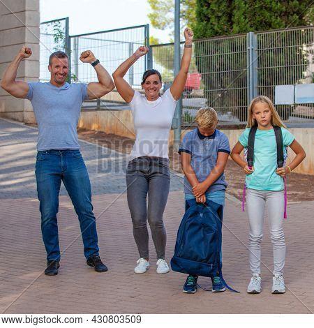 HAPPY PARENTS, SAD KIDS BACK TO SCHOOL SADNESS