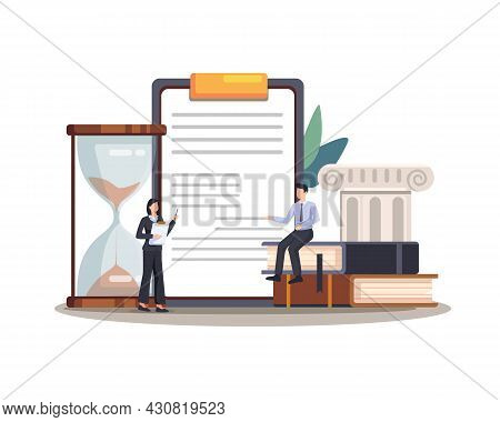 Legal Law Justice Service Illustration