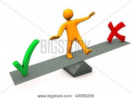 Balance Right False
