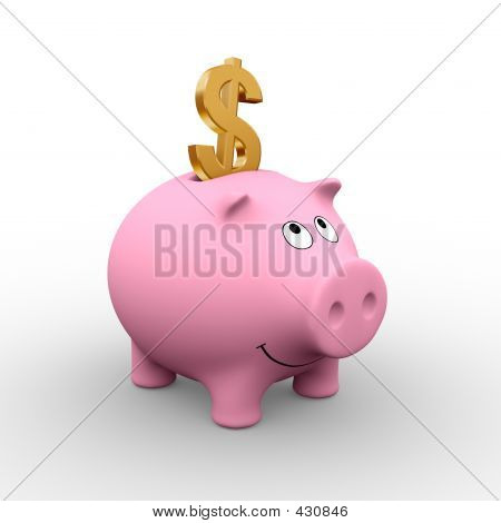 American Piggy Bank