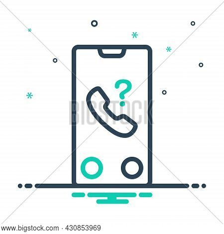 Mix Icon For Whose Whereof  Unknown-call Phone Call Unknown Unnamed Unfamiliar Nameless Unware