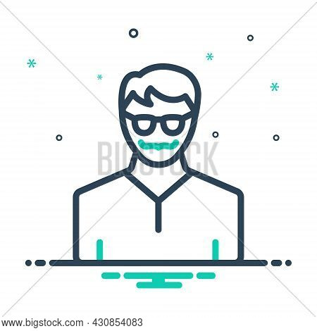 Mix Icon For Elite People Person Human Avatar Incarnation