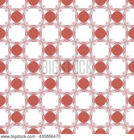Color Geometric Pattern For Print, Textile On White. Fashion Graphic Design. Modern Stylish Texture.