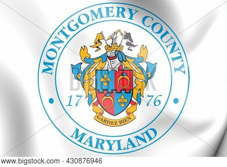 3d Seal Of Montgomery County (maryland), Usa. 3d Illustration.