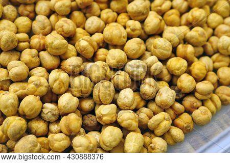 Fresh Salted Roasted Chickpeas, Turkish Culture And Roasted Chickpeas,