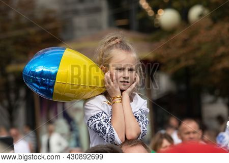 Celebrating The 30Th Anniversary Of Ukraine Independence.