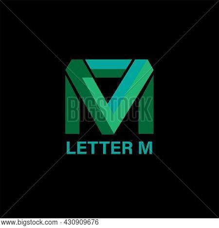 Letter M Design Logo Business. Letter M Logo Identity