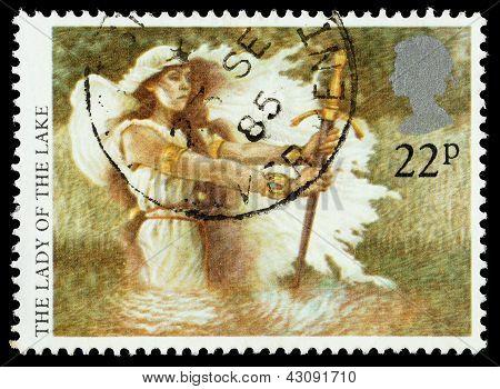Britain Arthurian Legends Postage Stamp
