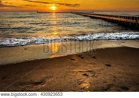 Sunset By The Sea