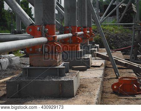 Concrete And Iron Construction, Building Industry, Bridge Construction, Structural Parts, Constructi