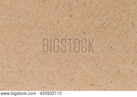 Old Paper Background. Realistic Brown Cardboard Stained Texture In Retro Style. Isolated Grunge Text