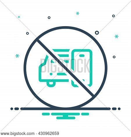 Mix Icon For While No Prohibited Mobile Car Drive Careful Danger Vehicle Caution Cellphone Ban