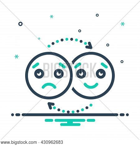 Mix Icon For Emotion Affection Feeling Indoctrination Reverie Sentiment Sensibility