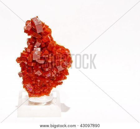 Red Vanadinite
