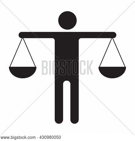 Ethics Icon Vector For Graphic Design, Logo, Website, Social Media, Mobile App, Ui Illustration