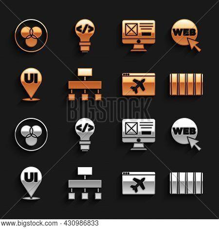 Set Site Map, Web And Graphic Design, Color Palette Guide, Website Template, Ui Ux, Rgb Cmyk Color M