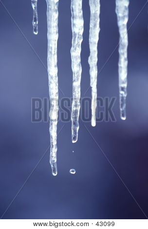 Melting Icicles