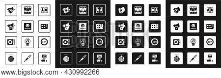 Set Stereo Speaker, Music Player, Speaker Mute, Volume, Drum Machine, Wave Equalizer, Edm Electronic