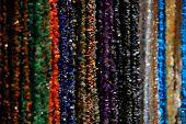 Shining beads poster
