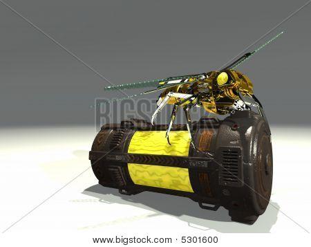 mechanical wasp