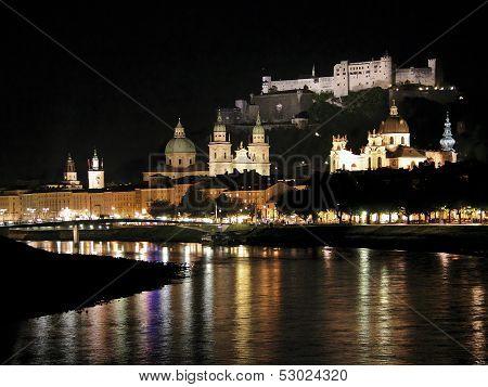 Salzburg by Night