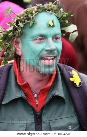 Jack In The Green Pagan Festival Hastings Uk
