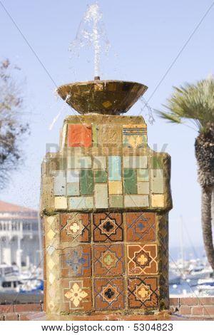 Catalina Tiled Fountain
