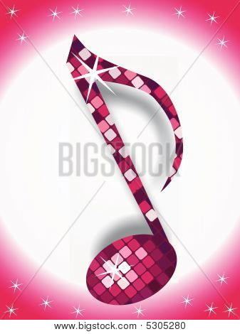 music note with disco light of this type please check my gallery poster