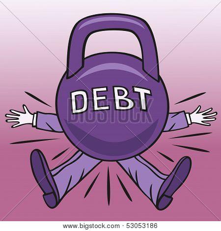 Hard debt.