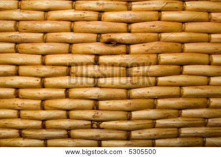 Woven Wood Background