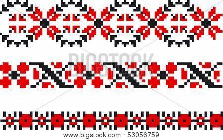 Moldovan Traditional Pattern