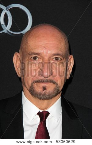 LOS ANGELES - OCT 28:  Sir Ben Kingsley at the