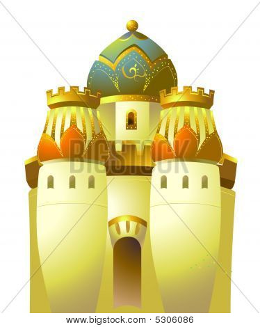 Islamic Gold Castle