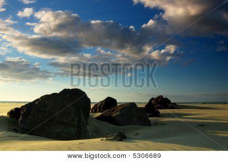 Rocks On Ninety Mile Beach